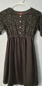Girls Cheetah Dress